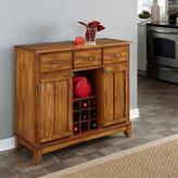 Home Styles Large Serving Buffet - Warm Oak