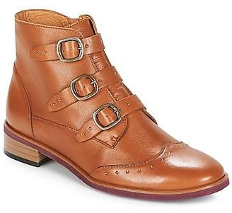 Karston JILOTO women's Mid Boots in Brown