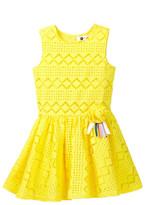 Petit Lem Lace Dress (Toddler & Little Girls)