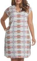 Tart Mellie Split Neck Jersey Dress (Plus Size)