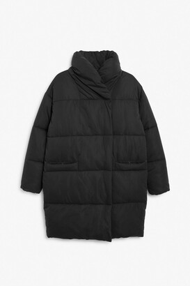 Monki Oversized puffer coat
