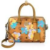 MCM Small Boston Essential Floral Crossbody Bag
