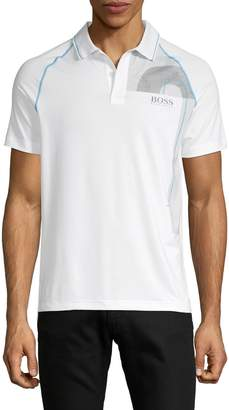 HUGO BOSS Graphic Short-Sleeve Polo