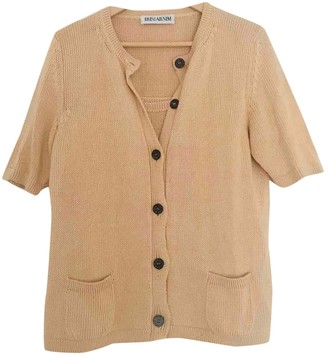 Iris von Arnim Beige Cotton Knitwear