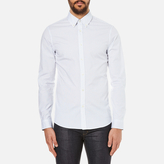 Michael Kors Slim Fit Landon Long Sleeve Shirt Ocean