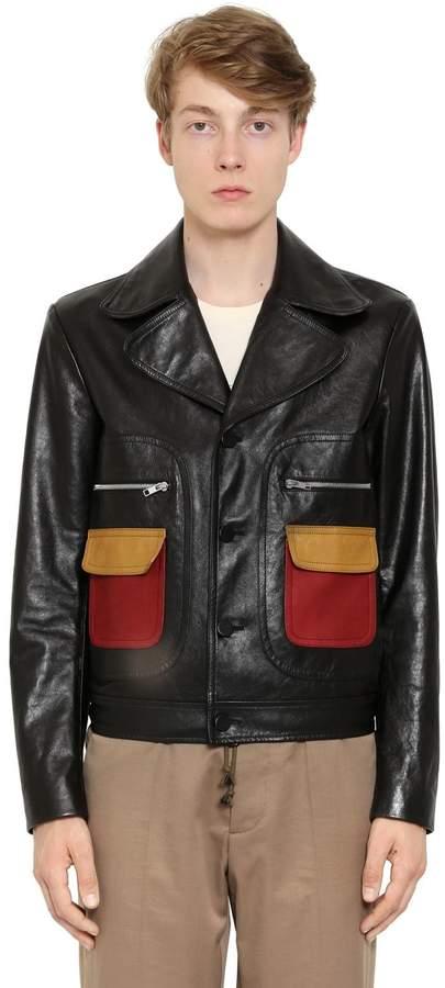 Maison Margiela Replica Leather Jacket