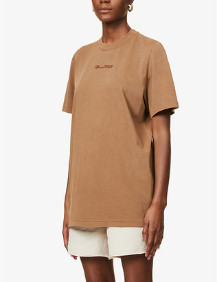 Camilla And Marc Turner branded cotton-jersey T-shirt