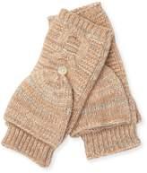 Portolano Women's Buttoned Crochet Gloves