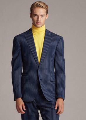 Ralph Lauren Gregory Pinstripe Suit Jacket