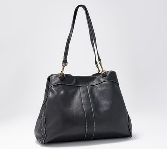 American Leather Co. Leather and Suede Shopper - Brookfield