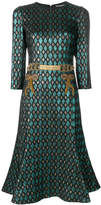 Dolce & Gabbana Abito herlequin print dress