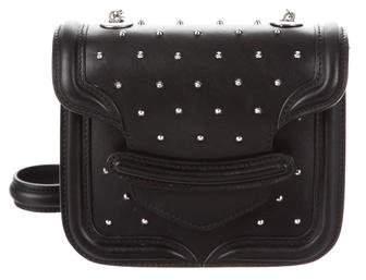 Alexander McQueen Mini Heroine Studded Crossbody Bag