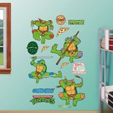 Fathead Teenage Mutant Ninja Turtles Classic Wall Decals by