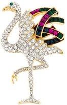 Kenneth Jay Lane Crystal Bird Brooch