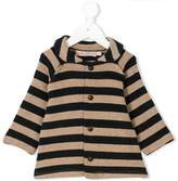 La Stupenderia striped knit cardigan