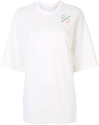 PortsPURE embroidered logo oversize T-shirt
