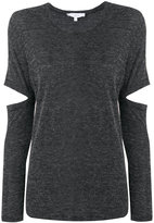 IRO elbow slits knitted top