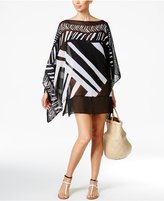 Profile by Gottex Sheer Poncho Cover-Up Tunic