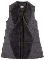 Splendid Girls' Faux Fur Lined Vest - Sizes 7-14