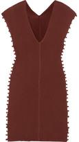 Caravana - Chikchan Tasseled Cotton-gauze Dress - Brown