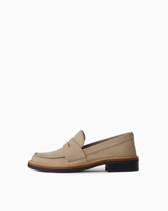 Rag & Bone Slayton loafer - nubuck