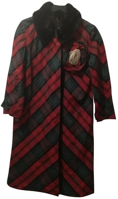 Louis Vuitton Red Wool Coats