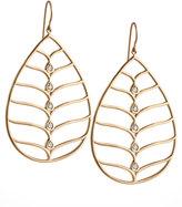 Jamie Wolf 18k Gold Diamond Pear Earrings