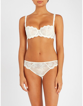 Aubade a lAmour leavers lace half-cup bra
