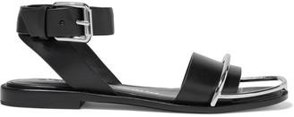 Alexander Wang Sora Embellished Leather Sandals