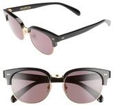 Wildfox Couture Women's Clubhouse 50Mm Semi-Rimless Sunglasses - Black