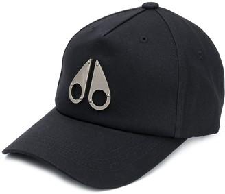 Moose Knuckles Logo Plaque Baseball Cap