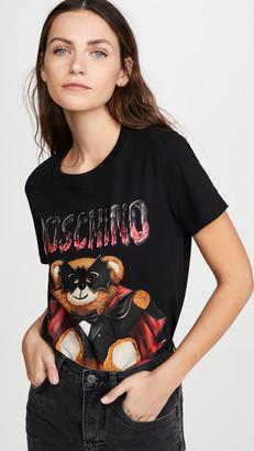Moschino Mask Bear T-Shirt