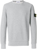 Stone Island crew neck sweatshirt - men - Cotton - M