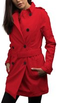 SCOTTeVEST Women's Trench Coat - 18 Pockets - Travel Clothing M