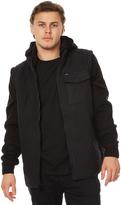 RVCA Breaker Puff Mens Jacket Black