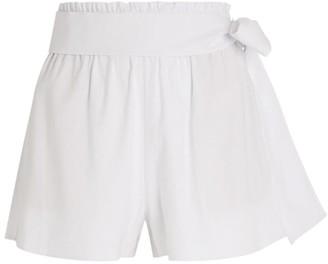 Alice + Olivia Alice+Olivia Linn Paperbag-Waist Shorts