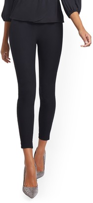 New York & Co. Whitney High-Waisted Pull-On Slim-Leg Pant