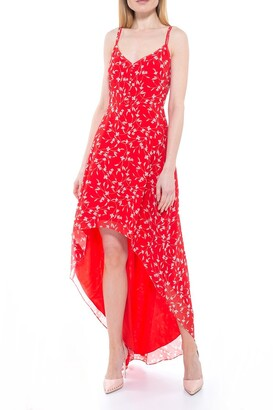 Alexia Admor Bailey Sweetheart High/Low Maxi Dress