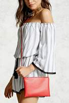 Forever 21 Mini Zip-Top Crossbody Bag