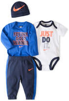 Nike 4-pc. Bodysuit Set-Baby Boys