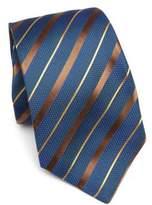 Kiton Knit Wide Stripe Tie