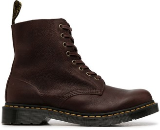 Dr. Martens Chunky Lace-Up Ankle Boots