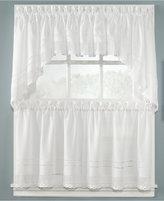 """CHF Peri Crochet 58"""" x 36"""" Cafe Curtain Pair"""