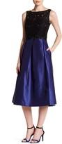 Ellen Tracy Arcadia Lace Midi Dress
