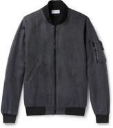 John Elliott - Tangleweave Bogota Woven Bomber Jacket