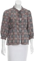 Marc by Marc Jacobs Paisley Silk Top