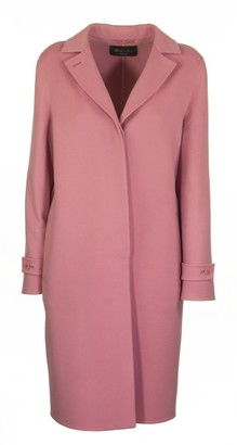 Loro Piana Breaden Cashmere Pink Eyeshadow Coat