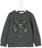 Stella McCartney wolf print sweatshirt