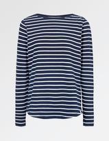 Fat Face Breton Stripe T-Shirt
