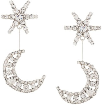 Jennifer Behr Leonida crystal embellished earrings